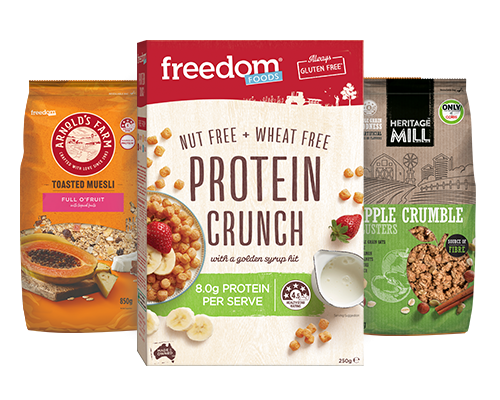 Freedom Foods - Cereal brands